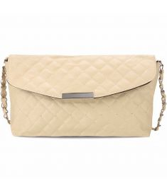 Women Fashion Retro Quilted Small Solid Clutch