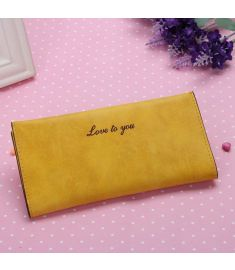 Women Leather Clutch Wallet Card Holder Case