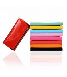 Candy Color Women Leather Long Wallet Clutch Bag