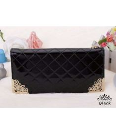 Women's Wallet Synthetic Leather Casual Long Clutch