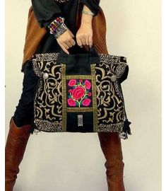 Original Design Thai Style Miya Embroidery Handbags