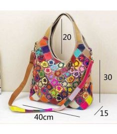 Fashion hollow women handbag composite shoulder bag vintage messenger bags totem tassel