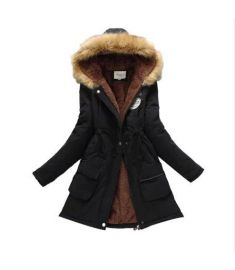 New Parkas Female Women Winter Coat Thickening Cotton Winter Jacket
