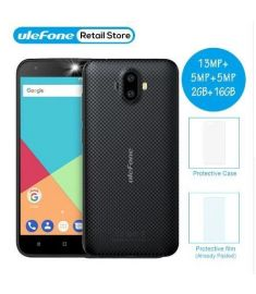 "Ulefone S7 Pro Smartphone 13MP Dual Rear Cameras MTK6580 Quad Core 2GB RAM 16GB ROM 3G WCDMA 5.0"" HD GPS Mobile Phone"