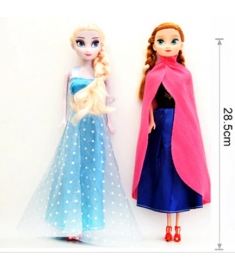 Original Princess elsa doll Anna Snow Queen Children Girls Toys