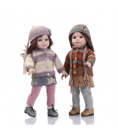 NEW 45CM Realistic Girl Doll Looking American Girl Princess Baby Dolls 18 Inch Safe silicone Girl Dolls