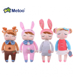 Genuine Metoo Angela plush dolls baby toy for children girl kids toys