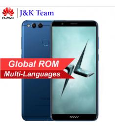 """Global ROM Huawei Honor 7X 5.93"""" Full View Screen 2160*1080pix OTA Update Mobile Phone Octa Core 2.4GHz"""