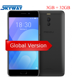 Original Meizu M6 Note 4G LTE 3GB 32GB Cell Phone Android Snapdragon 625 Octa core 5.5''
