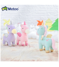 Metoo Doll 23cm Horse Kawaii Stuffed Plush Animals Cartoon Hot Kids Toys for Girls Children Baby