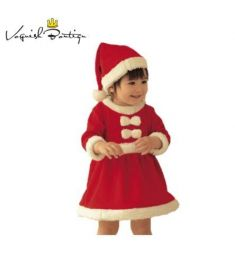 PureMilk baby girls dress with hat new year costume clothes
