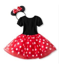 Birthday Party Dress For Halloween Cosplay Minnie Mouse Dress