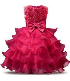 Girl Dress Sleeveless Kid Dresses Girls Clothes Party Princess Dress