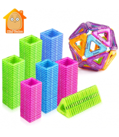 Mini Magnetic Blocks Educational Construction Set Models & Building Toy