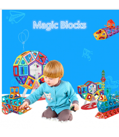 Standard Size Magnetic Designer Construction Set Model & Building Toy Brick