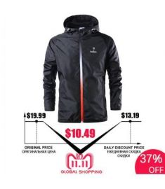 New Spring Summer Mens Fashion Outerwear Windbreaker Men' S Thin Jackets