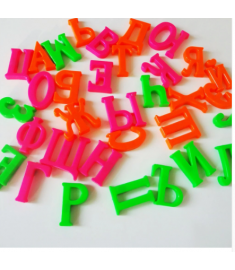 Alphabet Fridge Magnets Plastic toys Child Letter Education Toy Baby Learning Tools