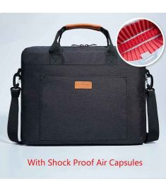 Laptop Bag With Belt For Trolley System For Macbook