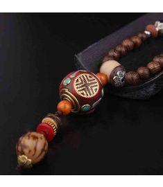 fashion evade peace buddha Tibetan ethnic jewely necklace vintage Nepal Jewelry necklace