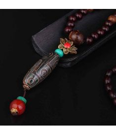 New design sandalwood fashion ethnic necklace jewelry