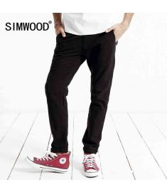 New autumn winter casual pants men length fashion trousers brand