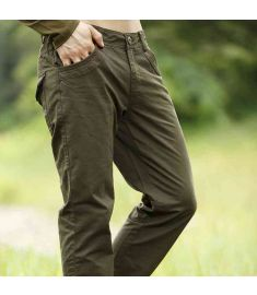 Brand Men Pants Full Length Military Light khaki Long Pants