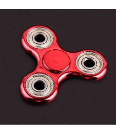 1Pcs Hot Selling EDC Toys Triangular Stress Wheel orqbar plating Professional Fidget Spinner Autism and ADHD Stress Wheel