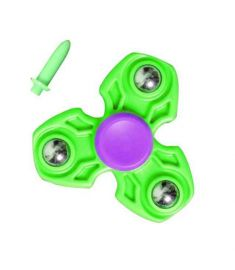 Pop Tri-Spinner Toy Plastic EDC Hand Spinner For Autism and ADHD Anxiety Stress Relief Fidget Focus Toys