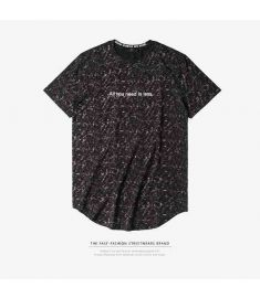 INFLATION 2017 Summer New Arrival Men's Extended Skateboard Element T-shirt Hip Hop T-shirt