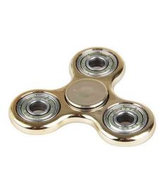Funny Spinner Plastic EDC Hand Spinner For Autism & ADHD Rotation Time Long Anti Stress Golden/Silver/Rose Golden Color