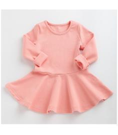 Girls Dress princess Autumn Kids Dresses for Baby Girls clothes Long Petal Sleevel