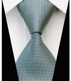 Dot Stripe Classic 100% Silk Neck Tie Design 2