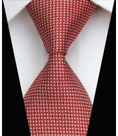Silk Neck tie Business Casual Knit Mens Ties Design 4