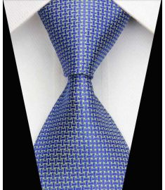 Silk Neck tie Business Casual Knit Mens Ties Design 6