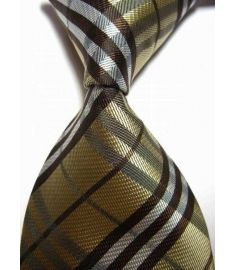 Man's Silk Polyester Tie Option 8