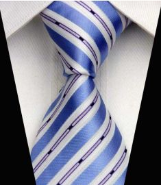 Man's Silk Polyester Tie Option 10