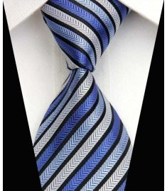 Man's Silk Polyester Tie Option 15