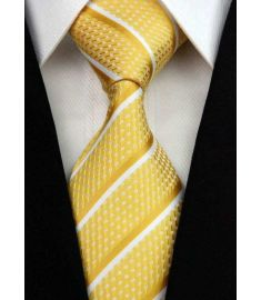 Elegant Silk Polyester Man Business Wedding  Tie Option 1