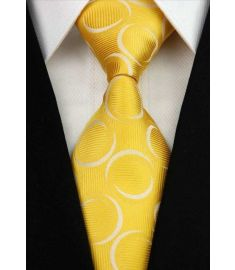 Elegant Silk Polyester Man Business Wedding  Tie Option 2