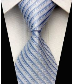 Elegant Silk Polyester Man Business Wedding  Tie Option 5