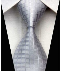 Elegant Silk Polyester Man Business Wedding  Tie Option 6