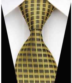 Elegant Silk Polyester Man Business Wedding  Tie Option 8