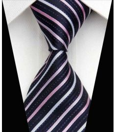 Elegant Silk Polyester Man Business Wedding  Tie Option 15