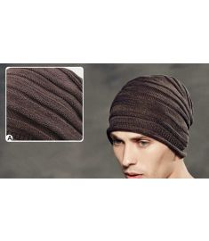 Kenmont Autumn Winter Men Warm 100% Cotton Outdoor Beanie Slouch Hat Hip Hop Skull Cap 1548