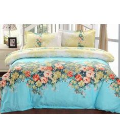 Bedding set quESty bedding sets duvet cover bedding sheet pillowcase 4pcs 3pcs for 1m to 2m bed  Design 22