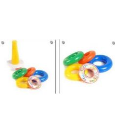 New baby toys Fisher** Stack Up  Rainbow Tower Ring Learning Toys Kids educational toys