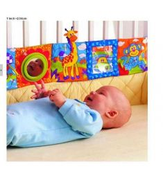 Baby Toy educational Baby Cloth Book Knowledge Around Multi-touch Multifunction Fun And Colorful Bed Baby Cloth Book