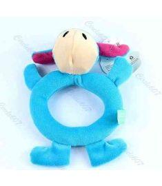 Baby Animal Model Catoon Hand Bell Ring Rattles Kid Plush Soft Toys
