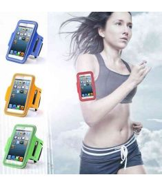 New GYM Workout Sport Arm Band Leather Cover For Apple iPhone 6 Plus 5.5
