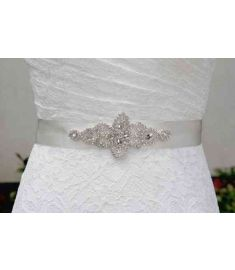Stock Brand new Handmade crystal rhinestone Beading embellishment waist belt bridal gowns Sash Wedding Dress Belts